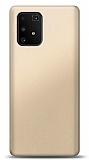 Samsung Galaxy S10 Lite Gold Mat Silikon Kılıf