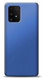 Samsung Galaxy S10 Lite Lacivert Mat Silikon Kılıf