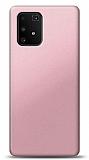 Samsung Galaxy S10 Lite Rose Gold Mat Silikon Kılıf
