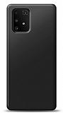 Samsung Galaxy S10 Lite Siyah Mat Silikon Kılıf