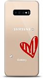 Samsung Galaxy S10 Plus 3 Taş Love Kılıf