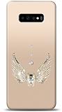 Samsung Galaxy S10 Plus Angel Death Taşlı Kılıf