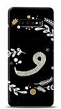 Samsung Galaxy S10 Plus Vav Harfi Taşlı Kılıf
