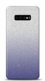 Samsung Galaxy S10 Simli Siyah Silikon Kılıf
