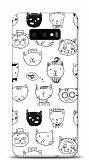 Samsung Galaxy S10e Cats Resimli Kılıf