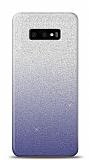 Samsung Galaxy S10e Simli Siyah Silikon Kılıf