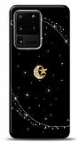 Samsung Galaxy S20 Ultra Ay Yıldız Gökyüzü Taşlı Kılıf
