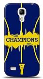 Samsung Galaxy S4 mini Euro Champions Lacivert Kılıf