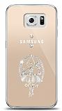 Samsung Galaxy S6 Balerin Taşlı Kılıf