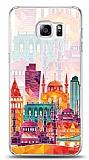 Samsung Galaxy S6 Edge Plus Colorful İstanbul Kılıf