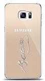 Samsung Galaxy S6 Edge Plus Silver Atatürk İmza Kılıf