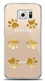Samsung Galaxy S6 Gold Patiler Kılıf