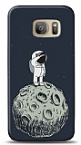 Samsung Galaxy S7 Astronot Resimli Kılıf