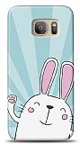 Samsung Galaxy S7 Edge Bunny Star Resimli Kılıf