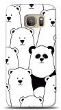 Samsung Galaxy S7 Edge Lonely Panda Resimli Kılıf