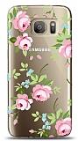 Samsung Galaxy S7 Edge Roses Resimli Kılıf