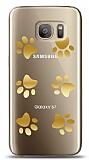 Samsung Galaxy S7 Gold Patiler Kılıf