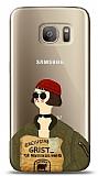 Samsung Galaxy S7 Leon Mathilda Resimli Kılıf