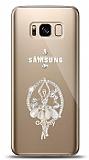Samsung Galaxy S8 Balerin Taşlı Kılıf