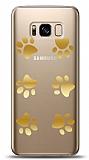 Samsung Galaxy S8 Gold Patiler Kılıf