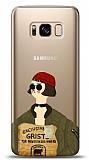 Samsung Galaxy S8 Leon Mathilda Resimli Kılıf