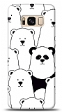 Samsung Galaxy S8 Lonely Panda Resimli Kılıf