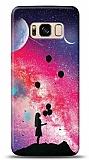 Samsung Galaxy S8 Moon Girl Resimli Kılıf