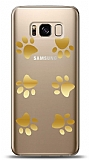 Samsung Galaxy S8 Plus Gold Patiler Kılıf
