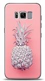Samsung Galaxy S8 Plus Pink Ananas Kılıf