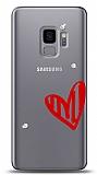 Samsung Galaxy S9 3 Taş Love Kılıf
