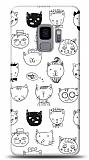 Samsung Galaxy S9 Cats Resimli Kılıf