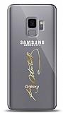 Samsung Galaxy S9 Gold Atatürk İmza Kılıf