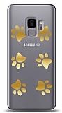 Samsung Galaxy S9 Gold Patiler Kılıf