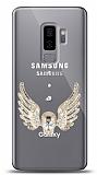 Samsung Galaxy S9 Plus Angel Death Taşlı Kılıf