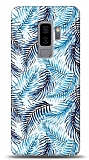 Samsung Galaxy S9 Plus Blue Tropical Resimli Kılıf