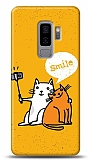 Samsung Galaxy S9 Plus Selfie Cat Kılıf
