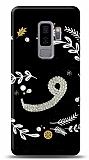 Samsung Galaxy S9 Plus Vav Harfi Taşlı Kılıf