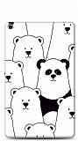 Samsung Galaxy Tab A 10.1 2019 T510 Lonely Panda Resimli Kılıf