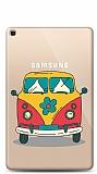 Samsung Galaxy Tab A 10.1 2019 T510 Retro Minibus Resimli Kılıf