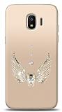 Samsung Grand Prime Pro Angel Death Taşlı Kılıf