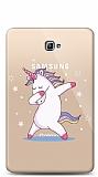 Samsung T580 Galaxy Tab A 10.1 2016 Dab Unicorn Resimli Kılıf