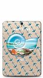 Samsung T820 Galaxy Tab S3 9.7 Sea Shell Resimli Kılıf