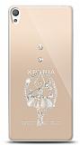 Sony Xperia E5 Balerin Taşlı Kılıf