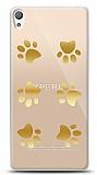 Sony Xperia E5 Gold Patiler Kılıf