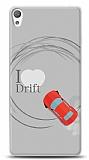 Sony Xperia E5 I Love Drift Kılıf