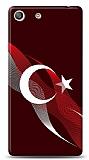 Sony Xperia M5 Bayrak Çizgiler Kılıf