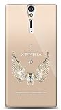 Sony Xperia S Angel Death Taşlı Kılıf