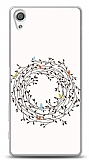 Sony Xperia X Performance Bird Circle Small Kılıf