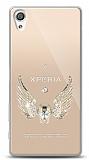 Sony Xperia XA Angel Death Taşlı Kılıf
