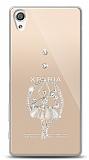 Sony Xperia XA Balerin Taşlı Kılıf